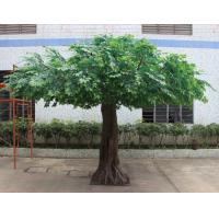 Buy cheap decorative cheap wholesale indoor artificial banyan tree plant bonsai artificial ficus benjamina tree in Guangzhou from wholesalers