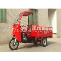 Buy cheap Gas / Petrol Cabin Cargo Motor Tricycle Motorized Trike 80km/h Max Speed product