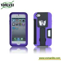 Buy cheap PC+silicone case for iphone5, with bottle opener style product