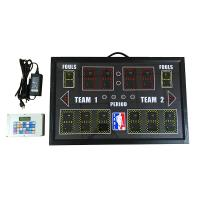 Buy cheap PBS12D-GRY Indoor Portable Baskebtall Scoreboard With Customized LOGO from wholesalers