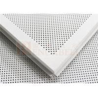 Buy cheap Rhombic Pattern Perforated Metal Ceiling Panels For Audi Facade from wholesalers