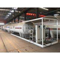 Buy cheap 10 Tons Cylinder LPG Bottling Plant , 20,000L Gas Cylinder Filling Station from wholesalers