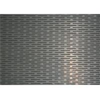 Buy cheap Perforated Honeycomb Mesh Sheet 0.1-12mm Thickness High Tensile Strength from wholesalers