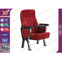 Buy cheap PU Leather Auditorium Furniture Church Hall Chairs With Damper Mechanism Audience​ from wholesalers