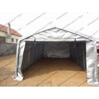 Buy cheap Silvery Gray Waterproof PVC Canvas Tent Single Tubular For Outdoor Exhibition from wholesalers