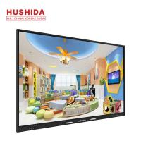 Buy cheap 50/60HZ 400 Nits Touch Screen Interactive Whiteboard Flat Panel 60000hrs Life Time from wholesalers