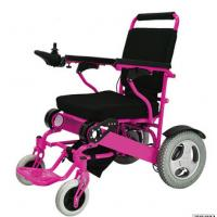 Buy cheap Lightweight Disabled Electric Wheelchair  Steel manual wheelchair with bedpan from wholesalers