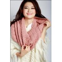China Acrylic Knitted Shawl (12-BR-201712-2.3) on sale