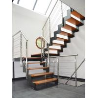 Buy cheap Stainless steel rod bar railing with round solid rod/ solid bar balustrade product