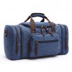 Buy cheap 2017 Men Travel Bags Luggage Canvas Shoulder Duffle Bags Travel Handbag Weekend Bags Large Big Bag from wholesalers