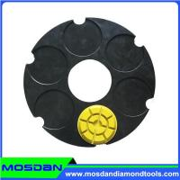 240mm Klindex Steel Base Velcro Plates with 3 Pins