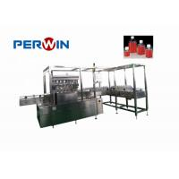 Buy cheap Square Bottle Cell Culture Media Filling Machine Peristaltic Pump Or Ceramic Pump from wholesalers