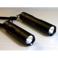 Buy cheap rechargeable led torch light/ led torch keychain/rechargeable led torch with CREE Q5 3W product