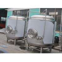 Buy cheap SUS304 316L 3mm Brite Beer Tank Serving Storage Tank 6Ton / Batch from wholesalers