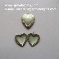 Buy cheap Copper Album Locket Jewelry Gifts, Brass Photo Box Locket pendants necklace from wholesalers