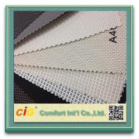 Buy cheap Multi - Color Sunscreen Roller Blind Fabric Embroidery PVC Coated Polyester product