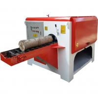 Buy cheap Multiple Blade Circular Sawmill Multiple Rip Saw Mill for Round Logs or Lumber Cutting from wholesalers
