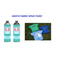 Buy cheap Washable  200ml Fabric Spray Paint Spray for T Shirt  UV Resistance and Fast Drying from wholesalers