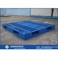 Buy cheap 1 Ton Load Stackable Plastic Pallet 1200 X 1000mm HDPE Open Deck  Plastic Euro Pallets from wholesalers