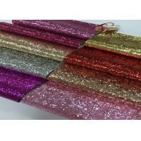 Salon Decoration Wallpaper Glitter Fabric Roll Pu Aritificial Leather