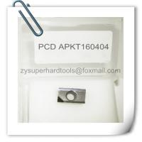 Buy cheap APKT 160404 pcd milling cnc inserts from wholesalers
