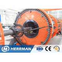 China Reinforced Flat Wire Rigid Armouring Machine Of Submarine Flexible Pipe Production Line on sale