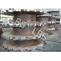 Buy cheap Steel Plate Rolling Integral Type Grooving Drum Of Crane Winch from wholesalers