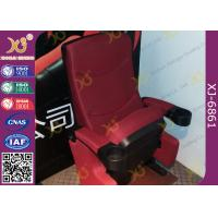 Buy cheap Gravity Recovery Fabric Surface Movie Theater Furniture Folding Up Chairs from wholesalers