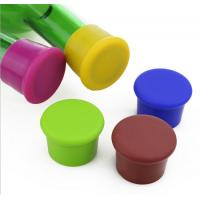 Buy cheap Cute Promotional Gift Cap Shaped Silicone Red Wine Bottle Stopper/Silicone Cap Lid from wholesalers