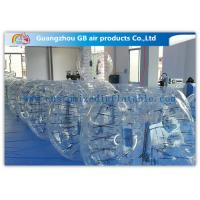 Buy cheap Clear Giant Inflatable Hamster Ball Human Bubble Ball With Custom Logo Printing from wholesalers