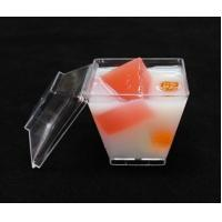 Buy cheap Disposable Plastic Dessert Cup With Lid Clear Disposable Plastic Dessert Tumbler Cups Small Party Cups from wholesalers