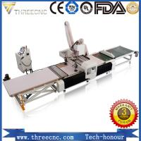 Buy cheap wood furniture production line kitchen cabinet making machine CNC router machine TM1325F.THREECNC product