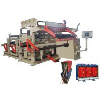 Buy cheap Copper Aluminium Strip Winder Low Voltage Transformer Foil Winding Machine with TIG from wholesalers