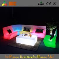Buy cheap 16 Colors Change Plastic LED Sofas , PE Night Club LED Furniture from wholesalers