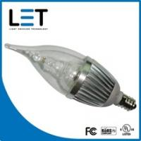 Buy cheap candle led bulb with UL 2w led candle lamp e14 dimmable from wholesalers