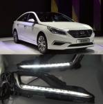 Buy cheap Hyundai  SONATA 9TH DRL 2X LED Driving Daytime Running Lights DRL Fog Lamp For Hyundai  SONATA 9TH 2014-2018 from wholesalers
