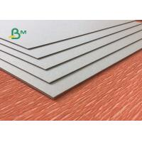 Buy cheap Uncoated Laminated Grey Board 1.0mm - 3.0mm Thickness Grey Carton Paper For Packing Box from wholesalers