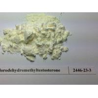 Buy cheap Anabolic Powder Supplements Genitals Enhancement Oral Turinabol Bluk Powder CAS 2446-23-3 from wholesalers