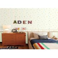 Buy cheap Butterfly Design Waterproof Vinyl Wall Covering / Wallpapers For Kids Bedrooms from wholesalers