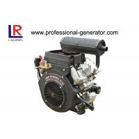 Buy cheap Four stroke 20HP Air Cooled Electric start Diesel Engine by V Twin from wholesalers
