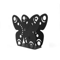 Buy cheap Eco Friendly Black Metal Napkin Holder Creative Design For Coffee Shops / Office from wholesalers