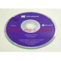 Buy cheap Multi-language Microsoft Windows 10 Proffesional OEM 64 Bit Software Full Version Activation Online from wholesalers