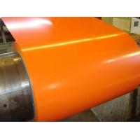 Buy cheap Z80 0.37 X 1219MM Orange G550 Prepainted Galvanized Steel Coil PPGI CGCC from wholesalers