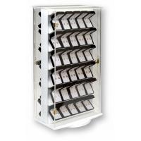 Buy cheap 360 D Rotating Clear Lockable Acrylic Countertop Display Case W/ Double-Sided 6 Shelves from wholesalers