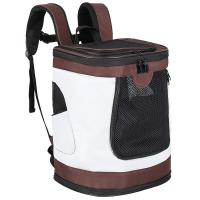 Buy cheap Collapsible Pet Carrier Bag , Zipper Closure Puppy Carrier Backpack from wholesalers