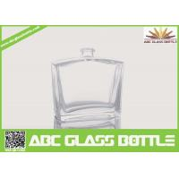 Buy cheap 50ml Pure Perfume Clear Glass Bottle from wholesalers