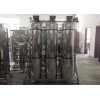 Buy cheap 1000TPH Pre - Treatment Tank For Water Treatment Accessories SS304 SS316 Filter Sand Carbon Softener Tank from wholesalers