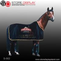 Buy cheap corrugated cardboard display standee for horse shape from wholesalers