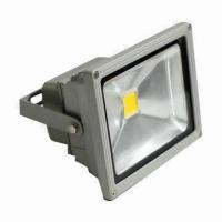 Buy cheap High-power LED Floodlight, 24W Power, 85 to 265V AC Working Voltage, 30,000-hour Lifespan product