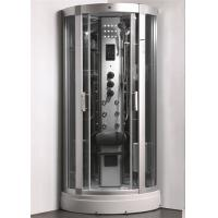 Buy cheap Enclosed Steam Shower Bath Cabin Spa Shower Enclosures With Aluminum Alloy Column from wholesalers